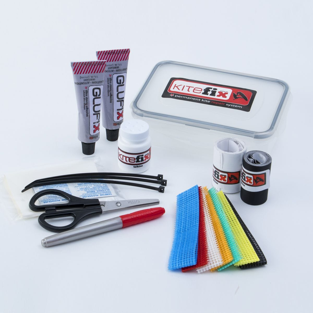 Kitefix Complete Repair Kit for traveling or DIY
