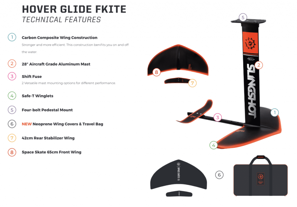 2020 Fkite Hover Glide Features