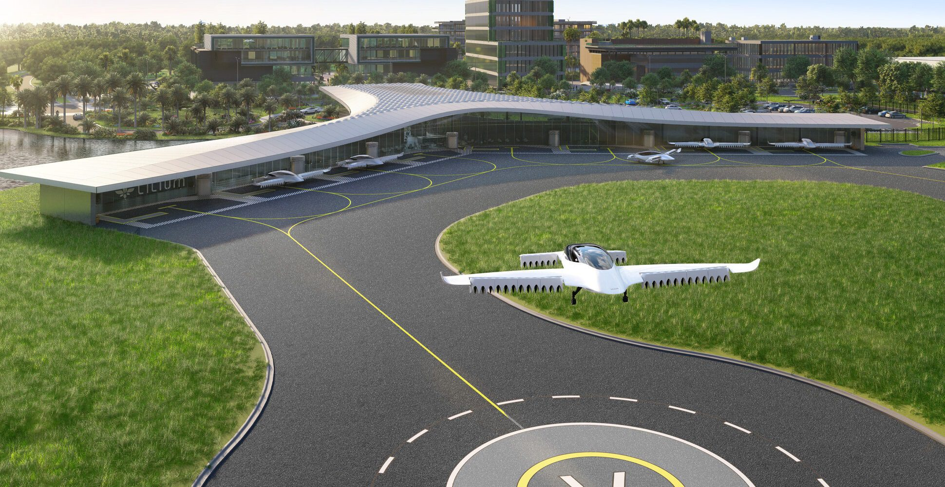 Coming Soon to Lake Nona: The Revolutionary Lilium Vertiport